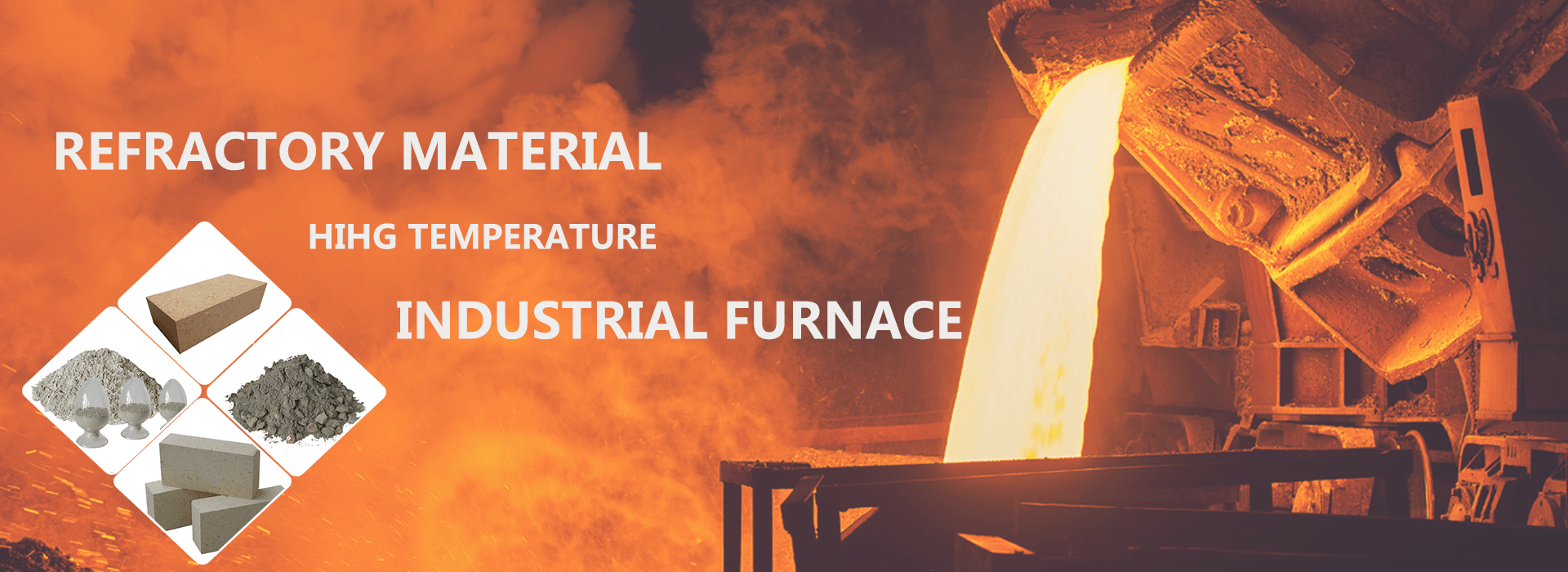 Refractory material factory