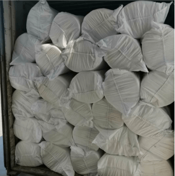 Insulation material ceramic fiber blanket delivery
